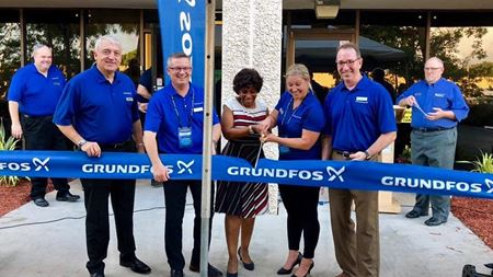 Grundfos opens new facility in Florida