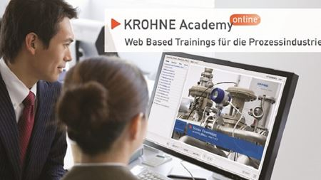 KROHNE adds new courses to Academy Online