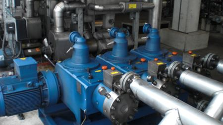 Diaphragm plunger pump amortises in 14 months
