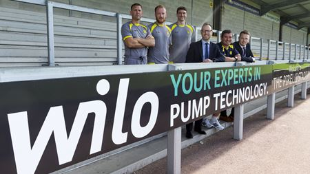 Wilo UK extends sponsorship deal with Burton Albion Football Club