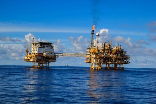 Off-shore gas fields continue to try to meet the world's increasing demand for energy. (Image: noomcpk/Shutterstock)