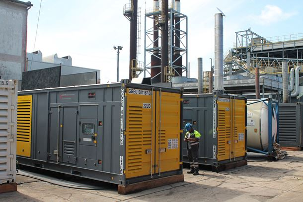 The QAC1250 generators feature a new cooling concept that uses an electric fan controlled by a variable speed drive.