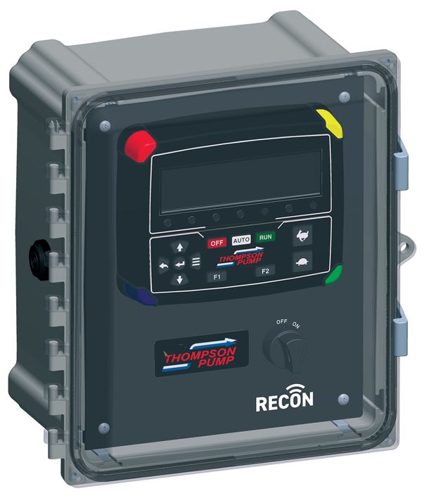 If there's a problem with the pump or engine, the RECON2000T can even be set up to notify you on your smart device.