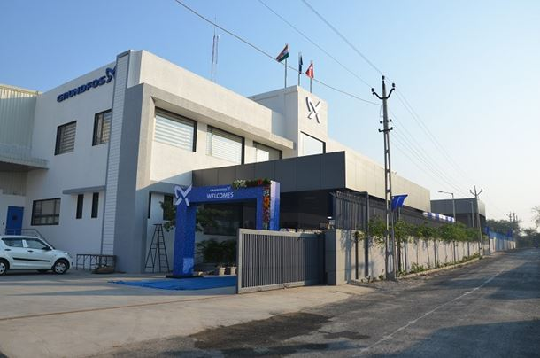 Grundfos's new facility in India.