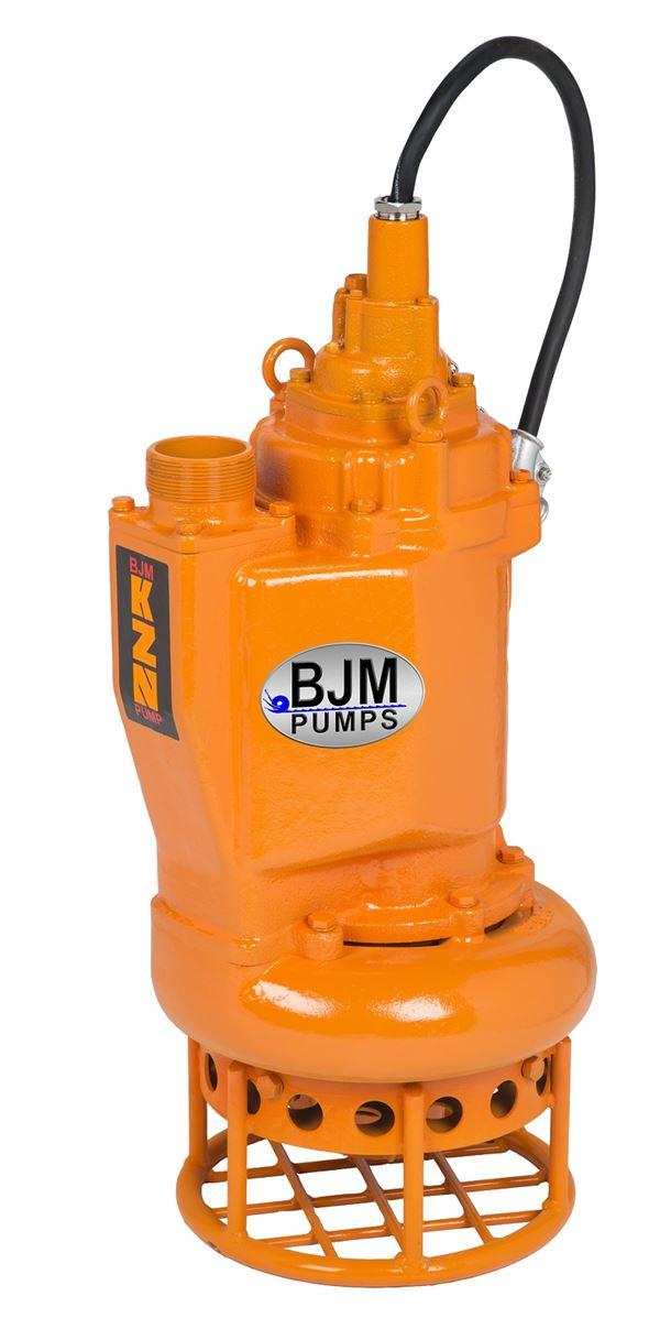 BJM Pumps KZN37 - hard metal submersible slurry pump.